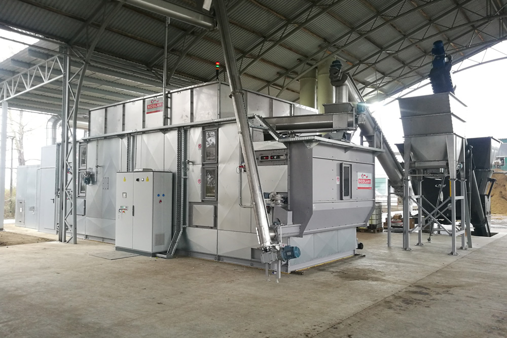Digestate drying plants manufacturers