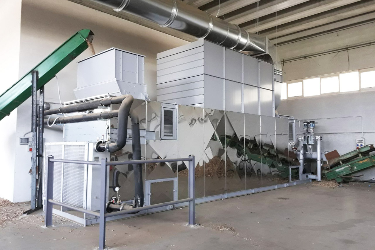 Drying systems movable conveyors