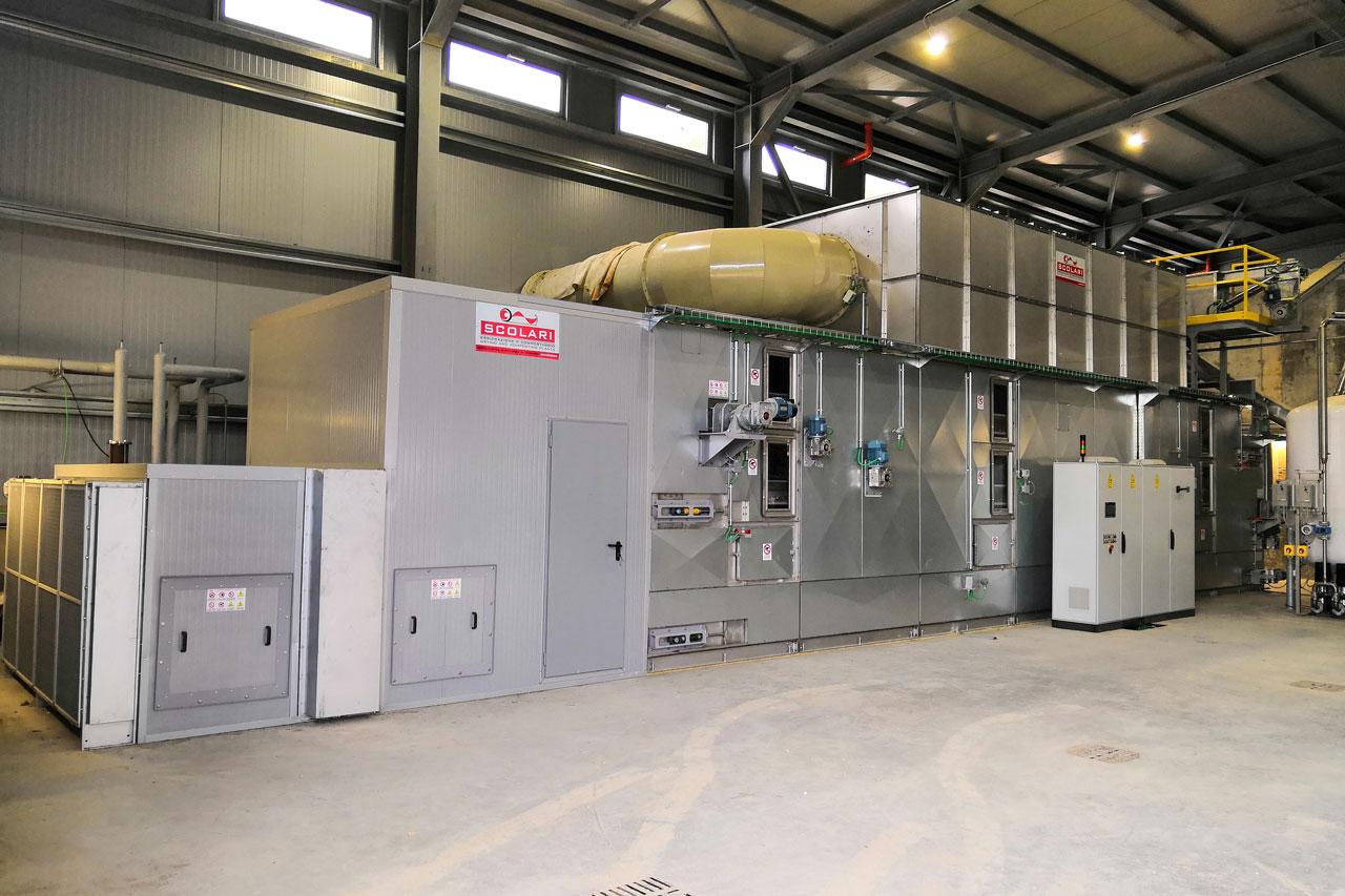 Installations de séchage industriel fabricants