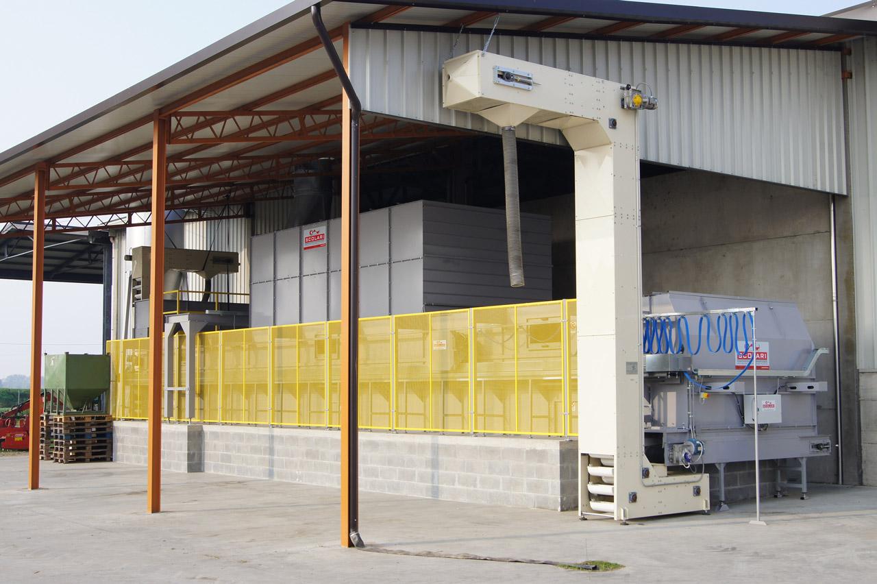 Installations séchage enlèvement mécanique fabricants
