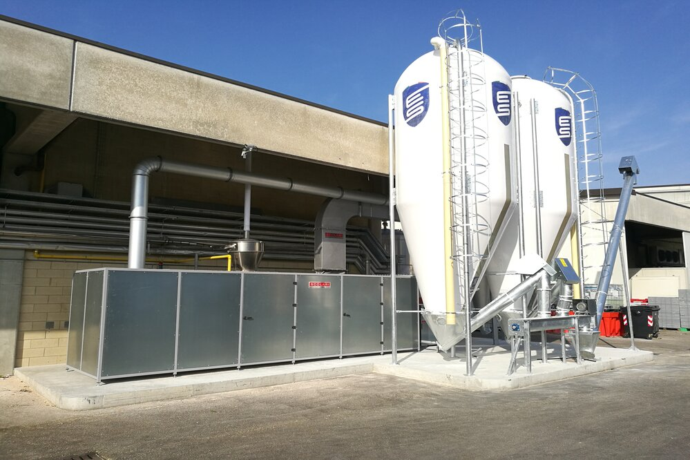 industrial drying plants manufacturers italy