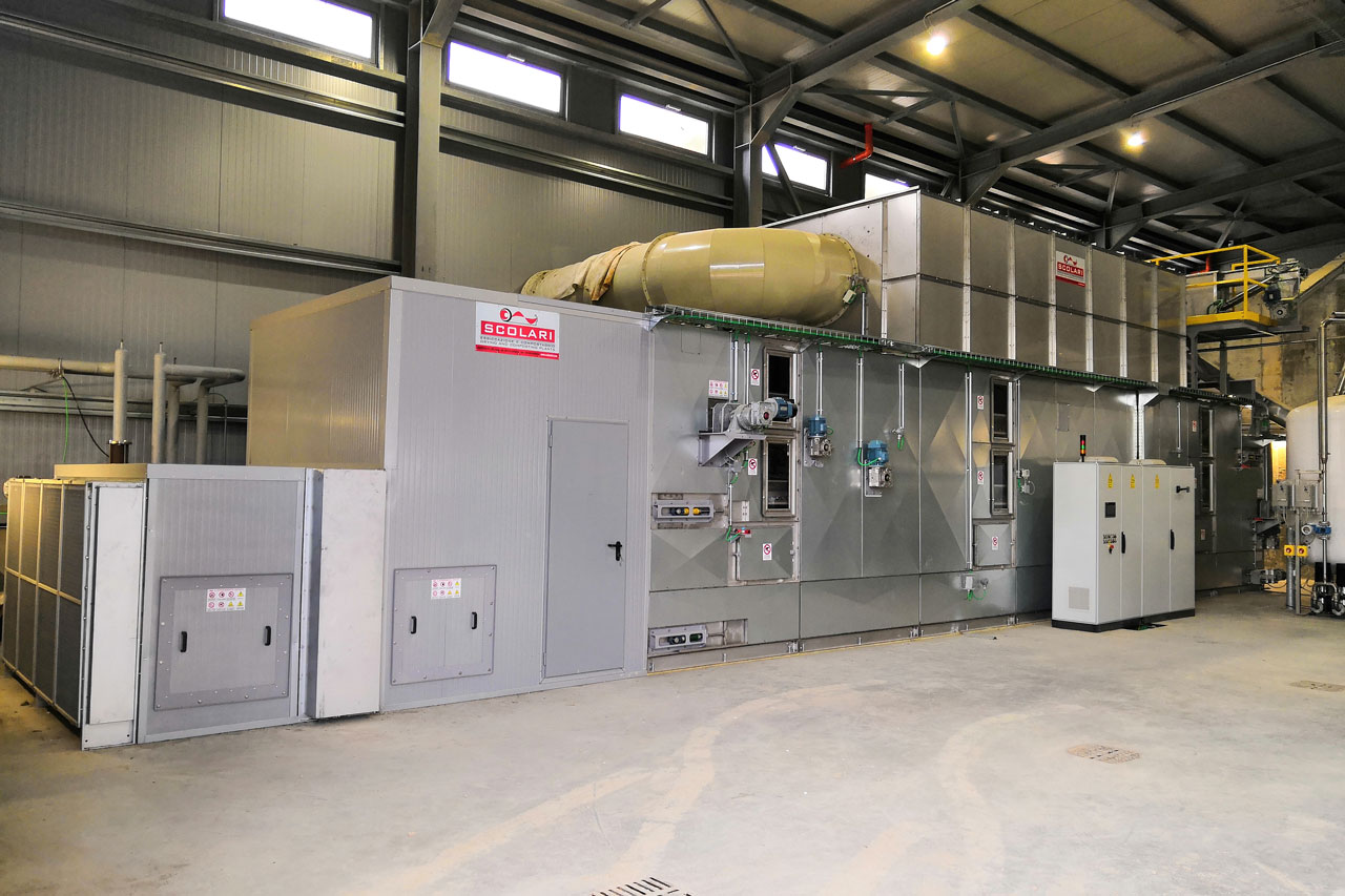 industrial drying plants manufacturers