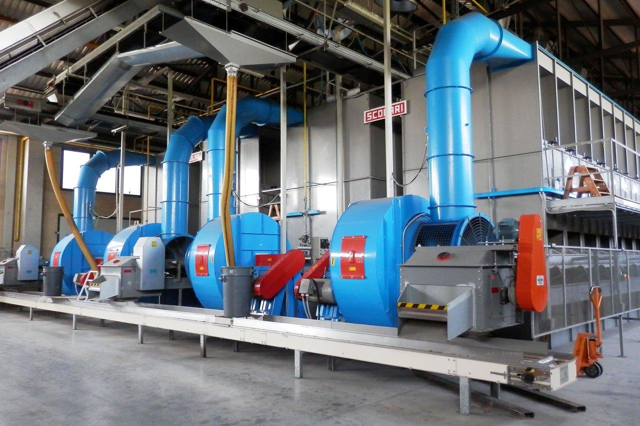 Installations de séchage industriels fabricants