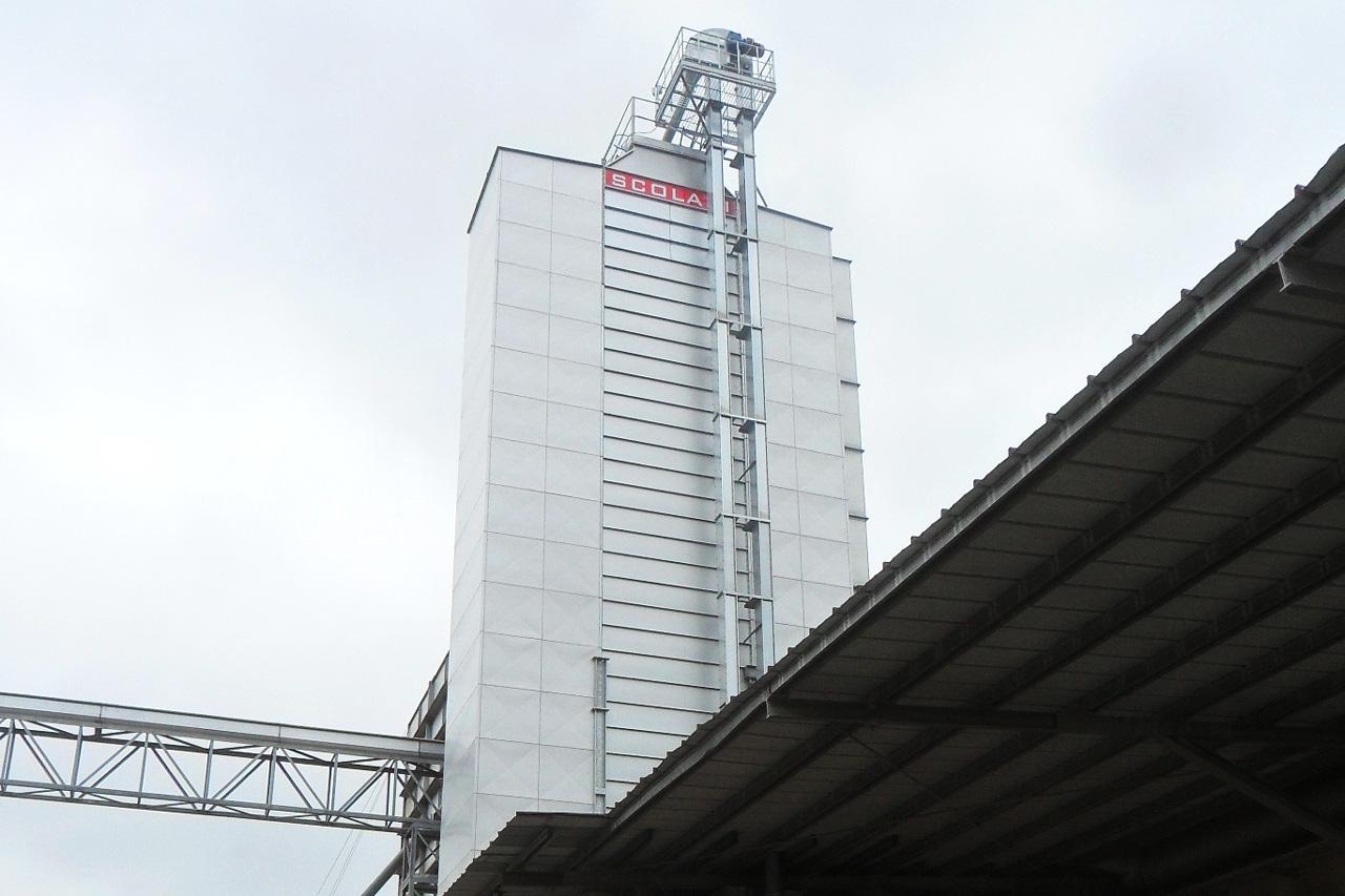 Installations verticales séchage pour céréales