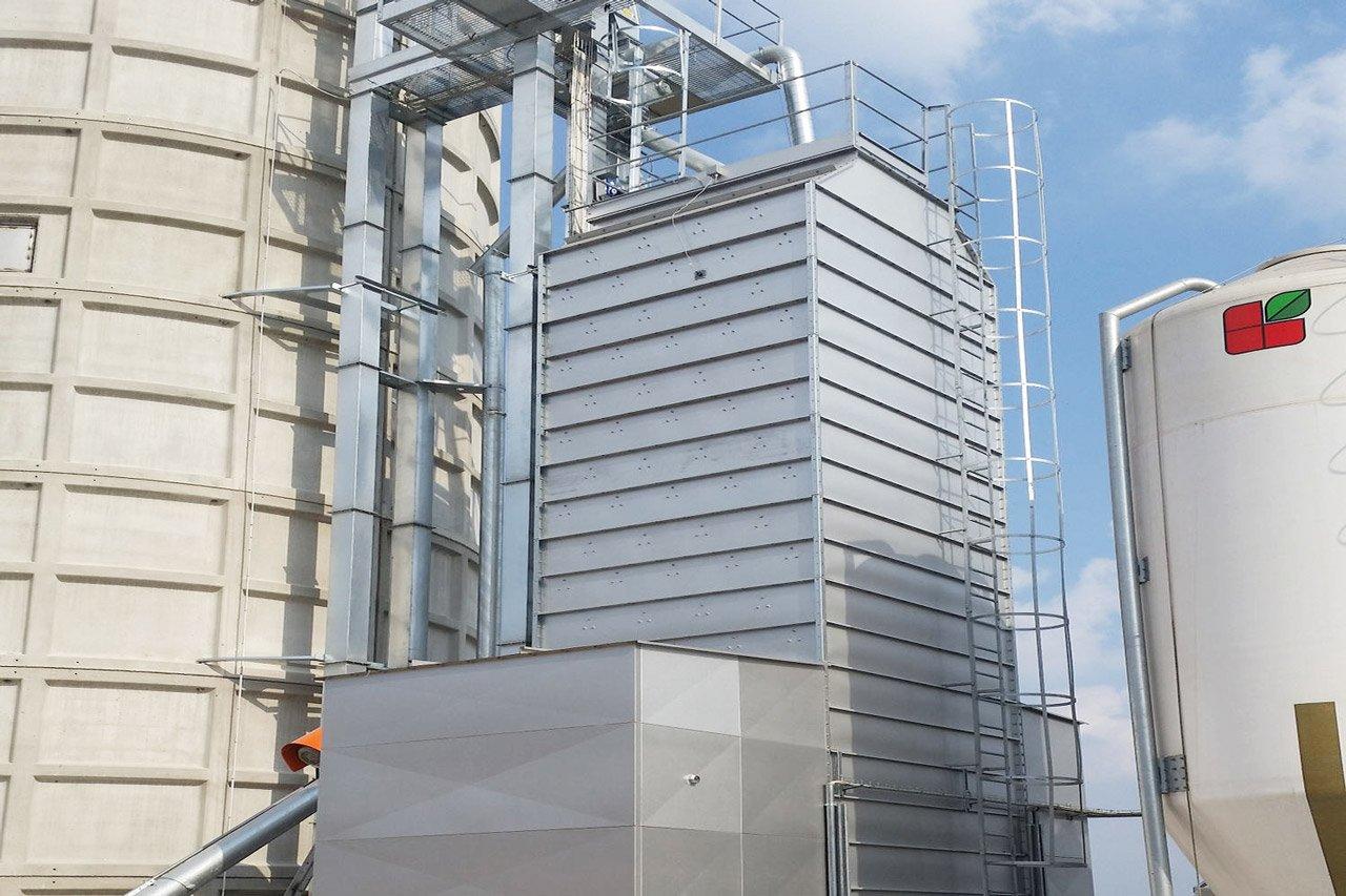 sécheurs verticales pour céréales fabricants